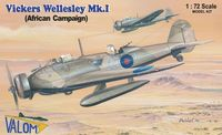 Vickers Wellesley Mk.I (African Campaign) British long range bomber