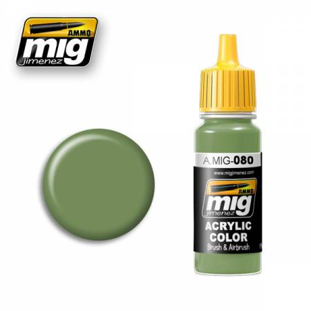 A.MIG 080 Bright Green - Image 1