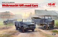 Wehrmacht Off-road Cars (Kfz.1, Horch 108 Typ 40, L1500A) - Image 1