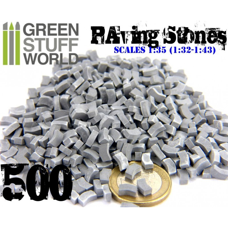 Model Paving Bricks - GREY (500 pcs) - Image 1