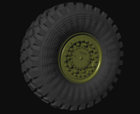 "Kamaz  53949 ""Typhoon"" Road wheels - Image 1"