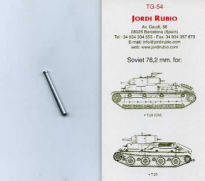 76 2mm long Soviet for T-28 - Image 1