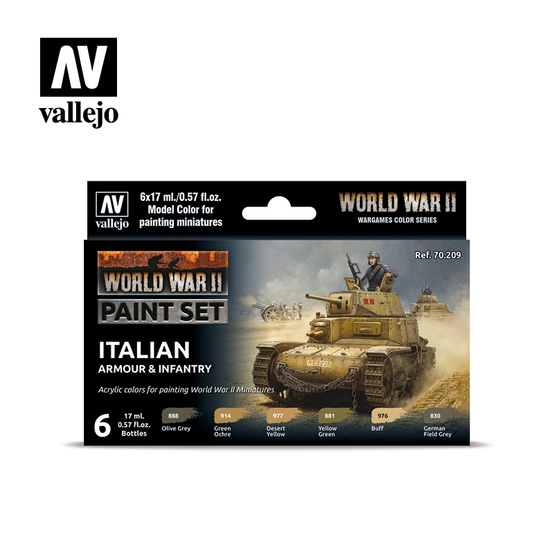 70209 WWII Italian Armour & Infantry Set - Image 1