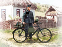 German soldier-bicyclist, 1939-1942 - Image 1