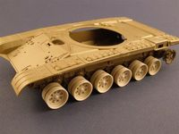 Burn out Wheels for T-72 Tank - Image 1