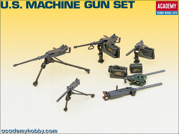 U.S. WWII Machine Gun Set - Image 1