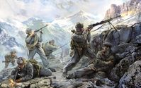 SOVIET MOUNTAIN INFANTRY WWII 1942
