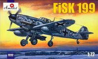 Messeschmitt FiSK-199 WWII German figther - Image 1
