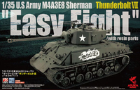 "U.S Army M4A3E8 Sherman Thunderbolt VII ""Easy Eight""  with resin parts - Image 1"