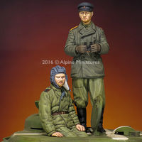 WW2 Russian Tank Crew Set (2 figs)