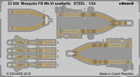 Mosquito FB Mk.VI seatbelts STEEL AIRFIX
