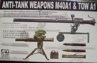 Anti Tank Weapons M40A1 and TOW A1