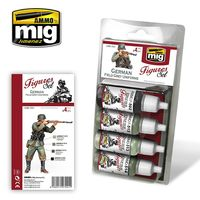 A.MIG 7021 GERMAN FIELD GREY UNIFORMS SET