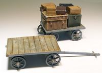 Railway cart on baggages - Image 1