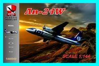 An-24W PLL LOT Polish Airlines - Image 1