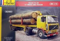 Volvo F12-20 & Timber Semi Trailer