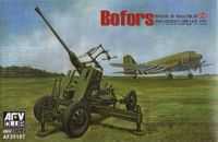 Bofors 40mm Mk III Anti Aircraft Gun (British Version)