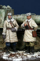 WW2 Russian AFV Crew Set (2 figs)