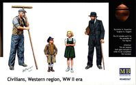 CIVILIANS,WESTERN REGION WWII era - Image 1