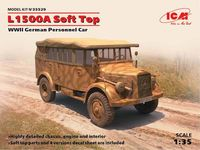 L1500A Soft Top, WWII German Personnel Car - Image 1