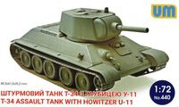 T-34 Assault Tank with Howitzer U-11