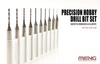Precision Hobby Drill Bits Set (0.4 - 1.3 mm)