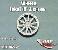 Enkei  wheels 10 spoke 4 screw