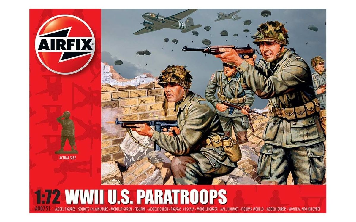 WWII US Paratroops - Image 1