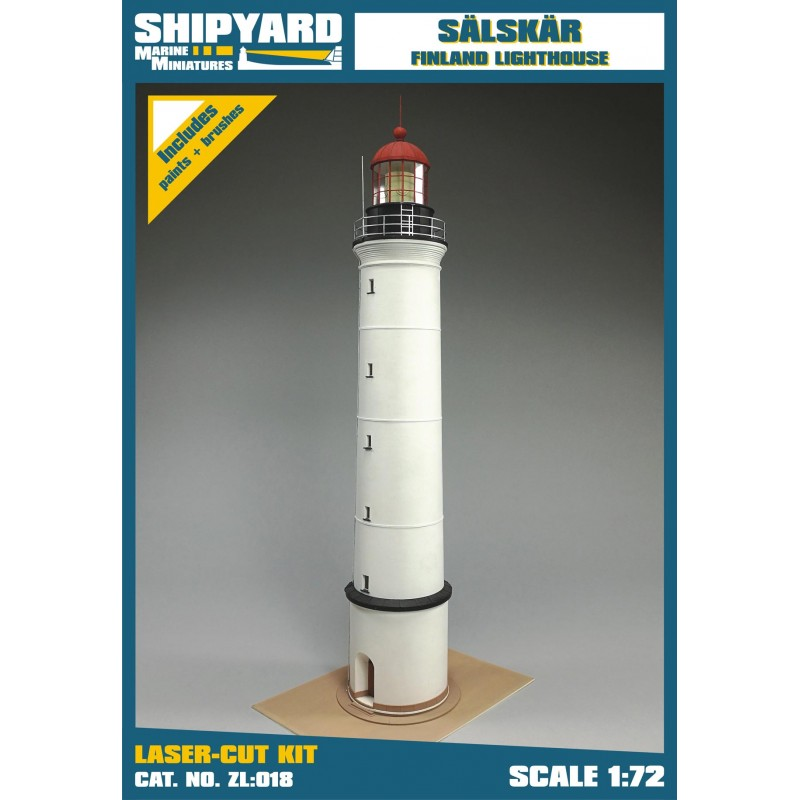 Sälskär Lighthouse skala 1:72 - Image 1