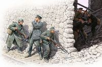 Who is that? German mountain troops and Soviet Marines (Spring 1943) 6 figures set - Image 1
