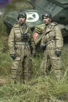 WW2 British Tank Crew Set (2 figs)