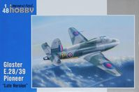 British prototype jet Gloster E.28/39 Pioneer Squirt (Late Version)