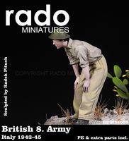 British 8. Army Italy 1943-45 PE & extra parts included