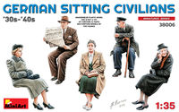 German Sitting Civilians 30-40s - Image 1