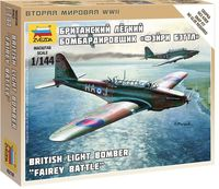 British Light Bomber Fairey Battle