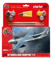 De Havilland Vampire T11 Starter Set