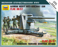 German Heavy Anti-Aircraft Gun FLAK 36/37 (8,8cm) Art of Tactic - Image 1