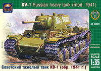 Soviet heavy tank KV-1 model 1941 (early version) - Image 1