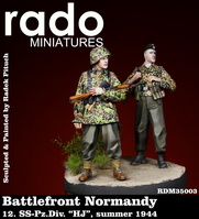 "Battlefront Normandy, 12. SS Pz.Div. ""HJ"", summer 1944 (two figures)"