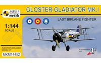 Gloster Gladiator MK.I Last Biplane Fighter