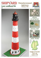 Westerheversand Lighthouse skala 1:72 - Image 1